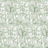 Plant seamless pattern Royalty Free Stock Image