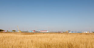 Plant and storage facilities Stock Image
