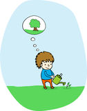 Plant a tree! Royalty Free Stock Photo