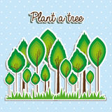 Plant a tree Stock Images