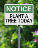 Plant A Tree Today Stock Photography