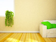Plant on the windowsill Stock Photography