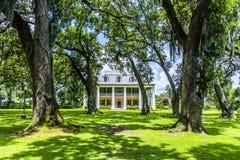 Plantação famosa da casa de Houmas Fotos de Stock Royalty Free