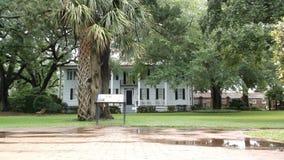 Plantação Georgetown home South Carolina EUA imagens de stock
