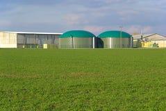 Planta 02 del biogás Fotos de archivo libres de regalías