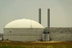 Planta 14 del biogás Fotografía de archivo libre de regalías