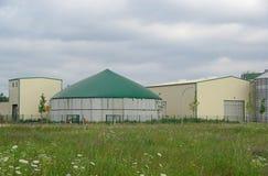 Planta 26 del biogás Imagen de archivo libre de regalías