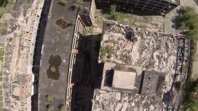 Planta aérea de Detroit Packard video estoque
