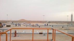 Planta bajo construcción en Omán fotos de archivo libres de regalías