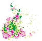 Planta com flourish Imagem de Stock Royalty Free