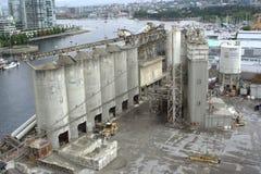 A planta concreta, construção do oceano fornece o Ltd. Fotografia de Stock Royalty Free