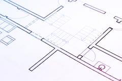 Planta da arquitetura Fotos de Stock