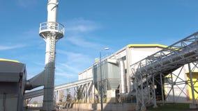 planta da Desperdiçar-à-energia Inclinação para baixo video estoque