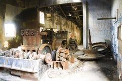 Planta da eletricidade abandonada Imagens de Stock