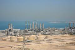 Planta da fonte de água de Dubai Fotografia de Stock