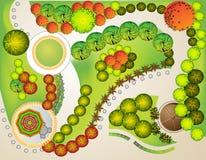Planta da paisagem ilustração stock