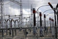 Planta da produção de electricidade Foto de Stock Royalty Free