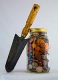 Planta da segurança financeira Imagens de Stock Royalty Free
