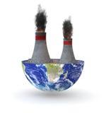 Planta de carvão ilustração royalty free