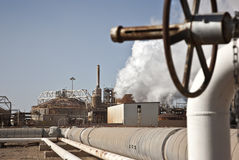 Planta de energia Geothermal Califórnia fotografia de stock royalty free