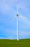 Gerador de poder do moinho de vento. fotografia de stock