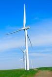 Gerador de poder do moinho de vento. imagens de stock