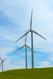 Gerador de poder do moinho de vento. foto de stock royalty free
