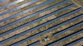 Planta de energias solares para a produção de vídeos de arquivo