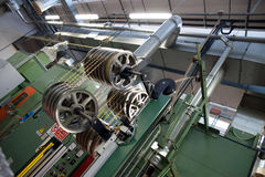 Planta de fábrica automatizada para el componente eléctrico Fotografía de archivo