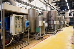 Planta de fábrica automatizada para el componente eléctrico Fotos de archivo