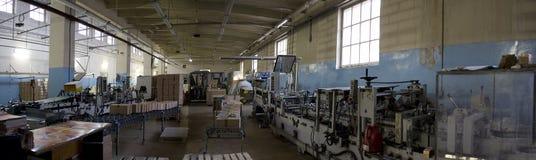 Planta de fabricación de la fabricación Imagenes de archivo