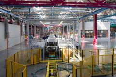 Planta de fabricación del coche Fotografía de archivo libre de regalías