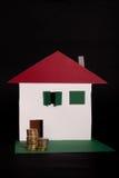Planta de Finacial para bens imobiliários Imagem de Stock Royalty Free