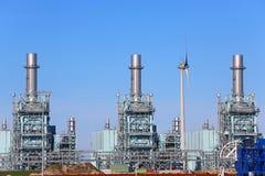 Planta de gás Foto de Stock Royalty Free