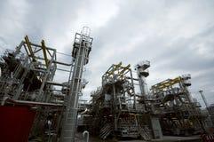Planta de gás Foto de Stock