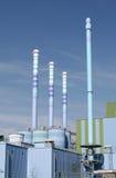 Planta de incineração waste industrial Imagens de Stock