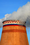 Planta de la central eléctrica en Moscú Imagen de archivo