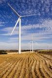 Planta de la energía eólica fotos de archivo libres de regalías