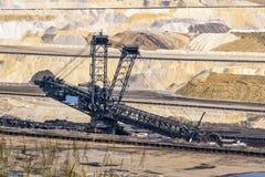 Planta de la mina de carbón en Alemania imagen de archivo libre de regalías
