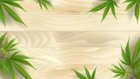 Planta de marijuana y c??amo en boder, fondos libre illustration