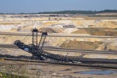 Planta de mina de carvão em Alemanha imagem de stock royalty free