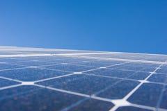 Planta de Phorovoltaic Imagenes de archivo