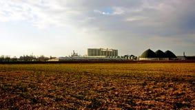 Planta de produção do álcool etílico Fotografia de Stock