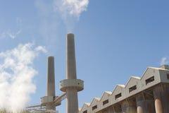 Planta de refinaria de alumínio Foto de Stock