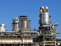 Planta de refinería Imágenes de archivo libres de regalías
