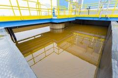 Planta de tratamento da água Imagem de Stock Royalty Free
