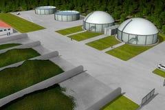 Planta del biogás