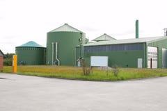 Planta del biogás Fotografía de archivo libre de regalías
