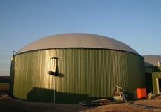 Planta del biogás Imagenes de archivo