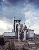 Planta del cemento Imagen de archivo libre de regalías